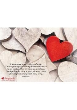 Kartka 20 - I dam nowe serce i nowego ducha