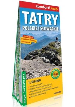 Comfort!map Tatry Polskie i Słowackie mapa w.2018