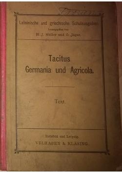Tacitus Germania und Agricola, 1895 r.