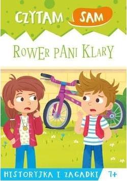 Czytam sam. Rower Pani Klary. Historyjka i zagadki