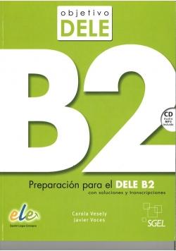 Objetivo DELE nivel B2 Książka + CD