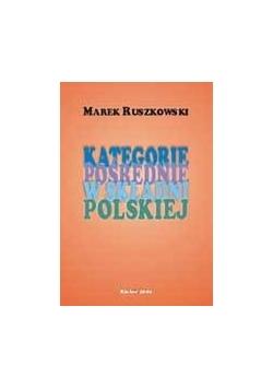 Kategorie pośrednie w składni polskiej