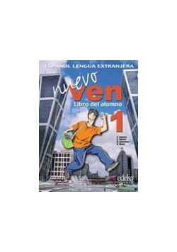 Nuevo Ven 1 podręcznik + CD audio EDELSA