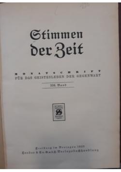 Stimmen der beit, 1925 r.