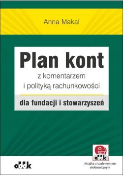 Plan kont z komentarzem i polityką rachunkowości dla fundacji i stowarzyszeń