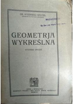 Geometrja wykreślna, 1922r.