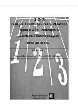 123 zad. z rach. różniczk. funkcji wielu zmiennych