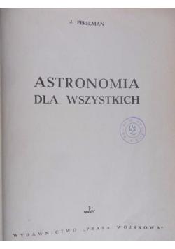 Astronomia dla wszystkich, 1949 r.