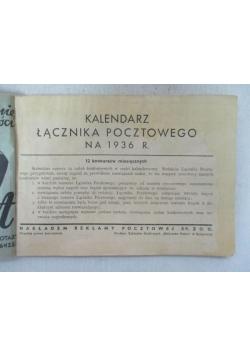 Kalendarz łącznika pocztowego na 1936 r., 1936 r.
