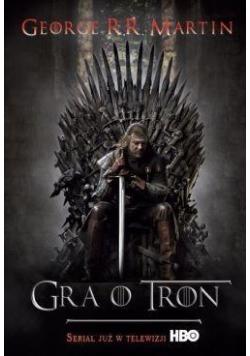 Gra o tron - George R.R. Martin tw. okł.film.