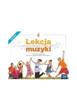 Muzyka SP  4 Lekcja muzyki Podr. NE