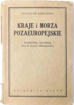 Kraje i morza pozaeuropejskie, 1935 r.