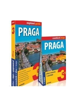 Praga explore! guide 3w1 przewodnik atlas 2016