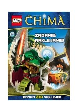 Lego Legends of Chima Zadanie naklejanie