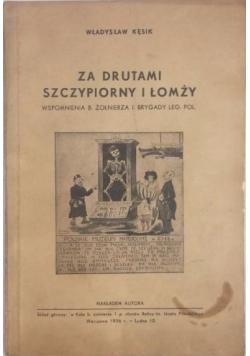 Za drutami Szczypiorny i Łomży, 1936 r.