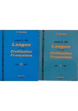 Cours de Langue et de Civilisation Francaises część 2 i 3
