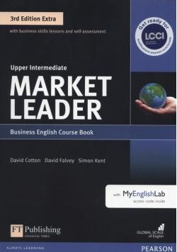Market Leader Extra Upper Intermediate Course Book +DVD + MyEnglishLab