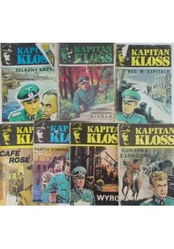 Kapitan Kloss, zestaw 7 książek