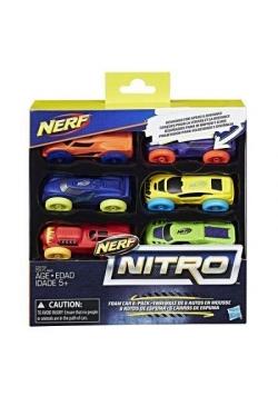 NERF Nitro Refill 6-pak samochody 2