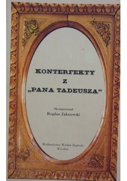 Konterfekty z Pana Tadeusza