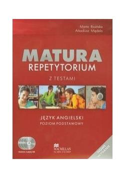 Matura: Repetytorium z Testami, Język angielski + CD