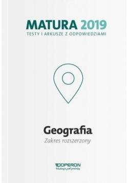 Matura 2019 Geografia. Testy i arkusze ZR OPERON