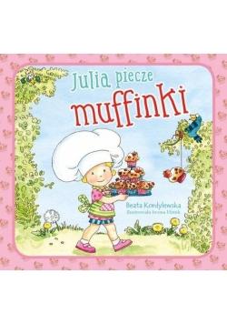 Julia piecze muffinki