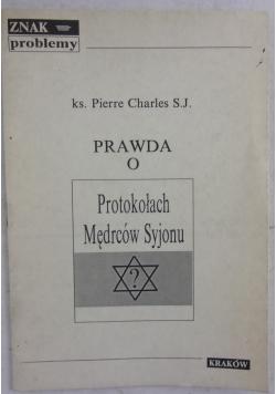 Prawda o protokołach Mędrców Syjonu, 1937r