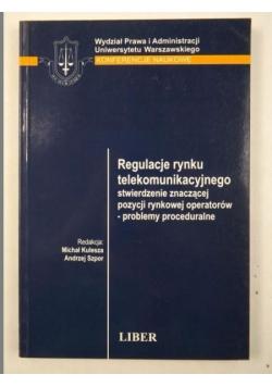 Kulesza Michał,    - Regulacje rynku telekomunikacyjnego