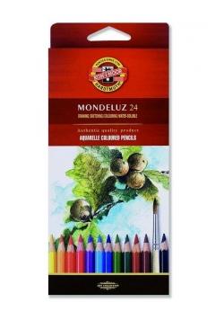 Kredki Mondeluz 24 kolory