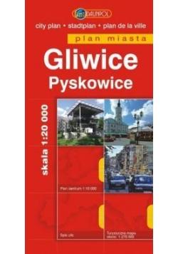 Plan Miasta DAUNPOL. Gliwice br