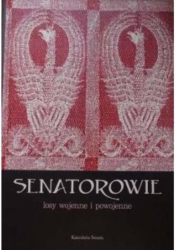 Senatorowie. Losy wojenne i powojenne