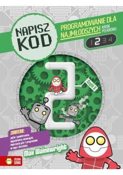 Napisz kod 2 Programowanie dla najmłodszych