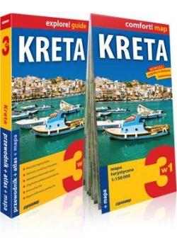 Explore!guide Kreta 3w1 przewodnik+atlas+mapa