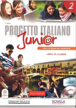 Progetto Italiano Junior 2 Podręcznik + CD