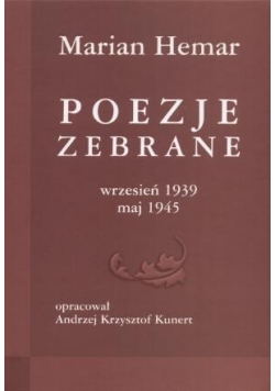 Poezje zebrane 1939-1945