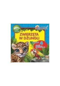 Animal Club. Zwierzęta w dżungli. Układanki...