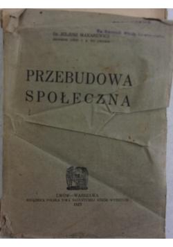 Przebudowa społeczna, 1923r