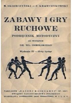 Zabawy i gry ruchowe, 1938 r.