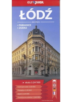 Plan Miasta EuroPilot. Łódź,Pabianice,Zgierz br