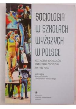 Socjologia w szkołach wyższych w Polsce