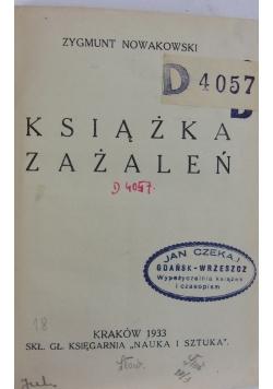 Książka Zażaleń