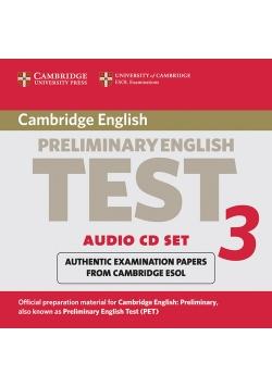 Cambridge Preliminary English Test 3 Audio CD Set