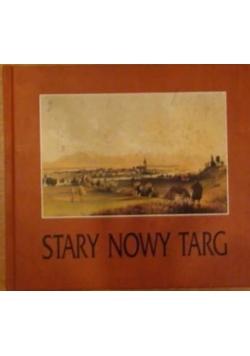 Nowak Anna i Antoni - Stary Nowy Targ na rycinach, obrazach,  fotografiach i kartach pocztowych
