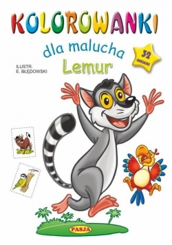 Kolorowanki dla malucha. Lemur