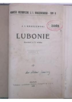 Lubonie, Tom I, 1930 r.