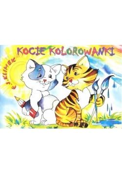 Kocie kolorowanki - Arka ARS LONGA