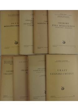 Choroby układu nerwowego, zestaw 8 książek