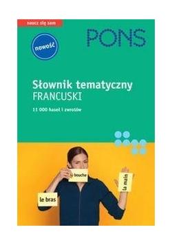 Słownik tematyczny francuski PONS