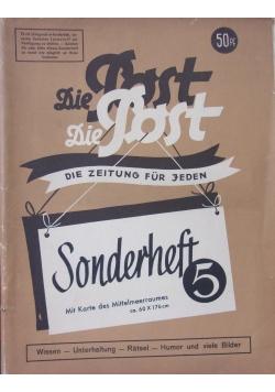 Die Post - Sonderheft 5,1942r.